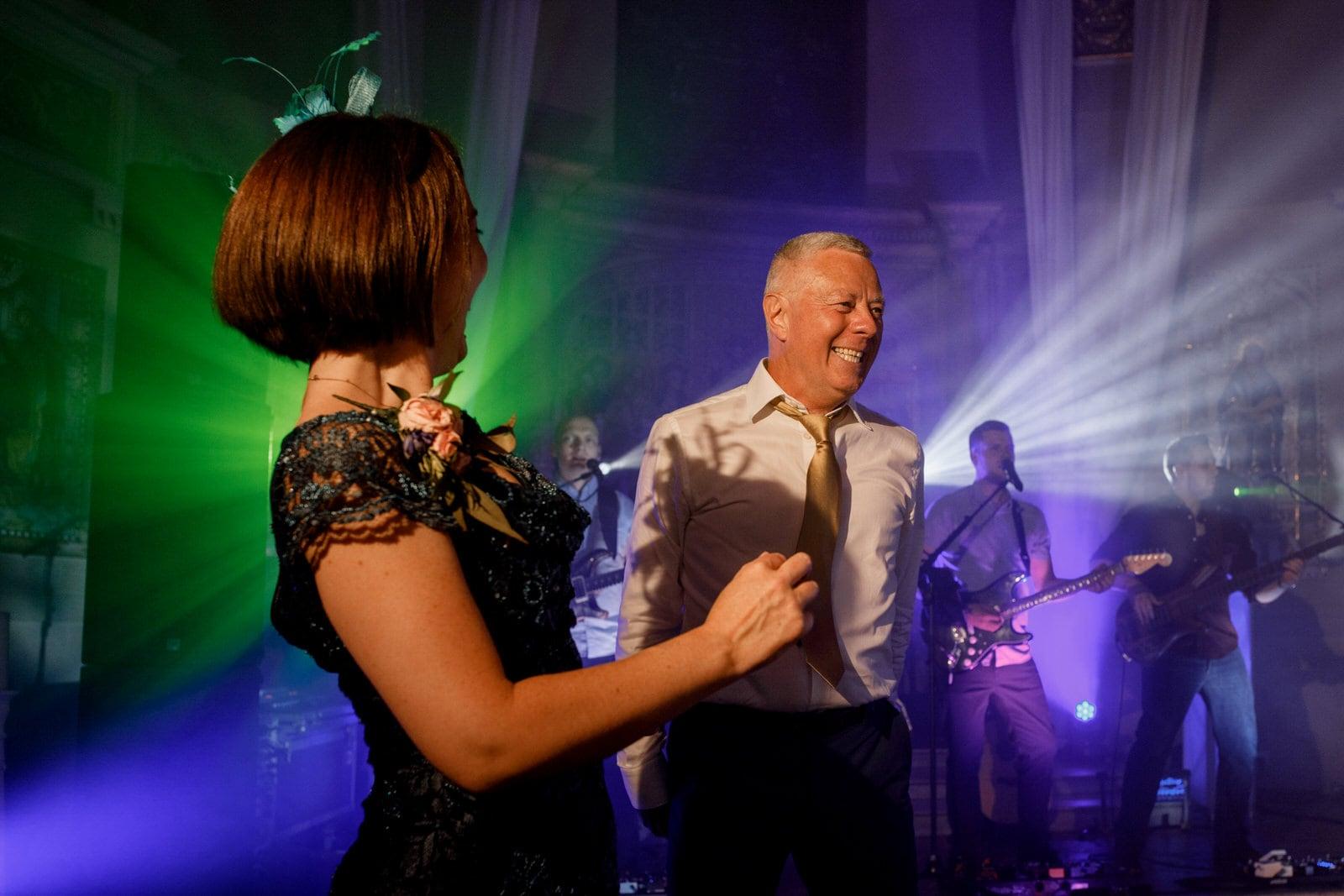 dancing at wedding in marylebone