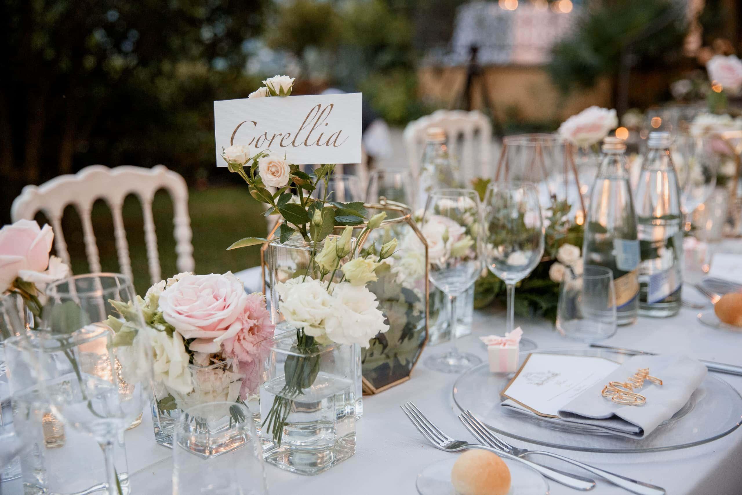 villa del balbianello wedding table