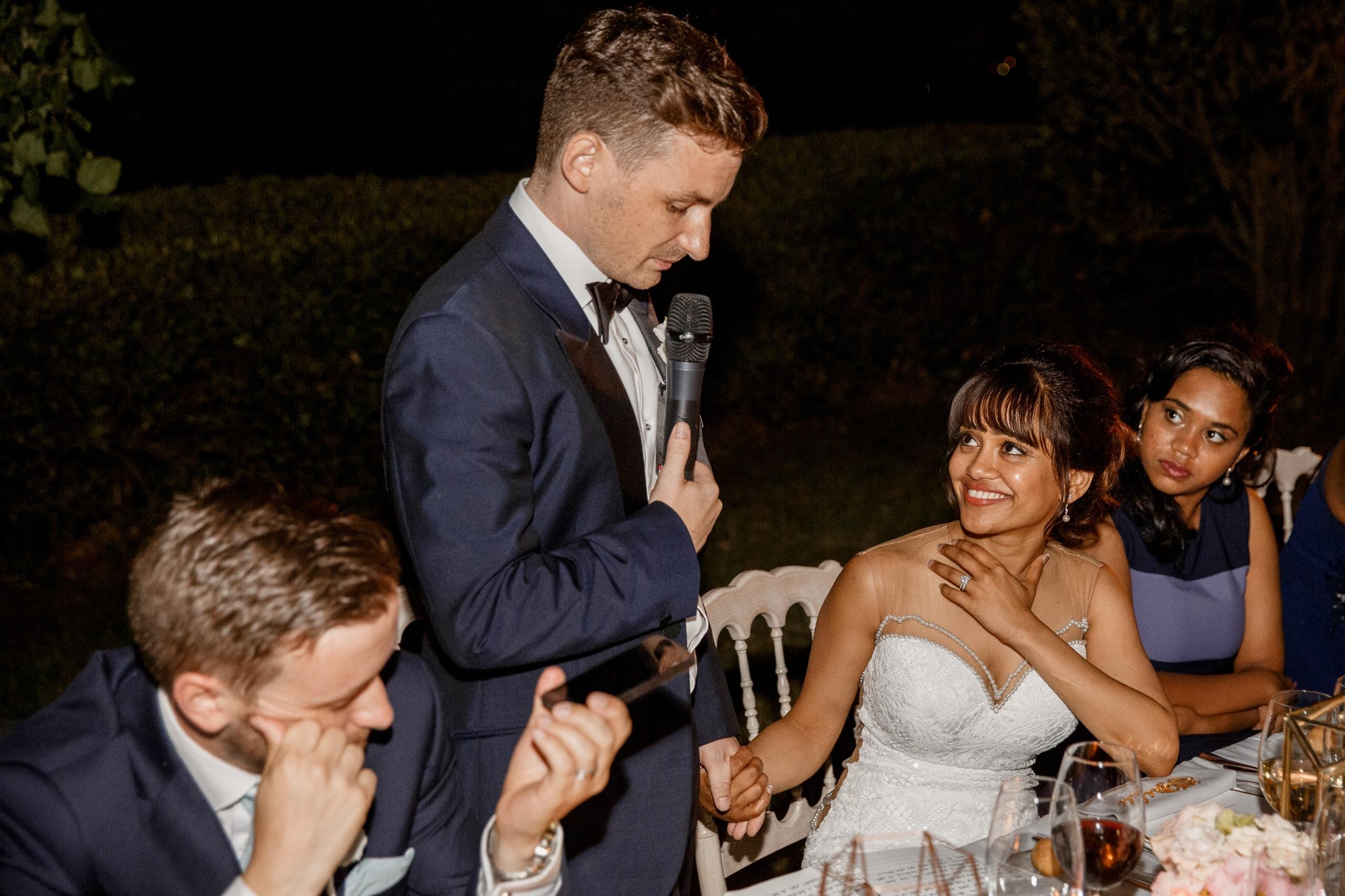 wedding speeches at villa del balbianello