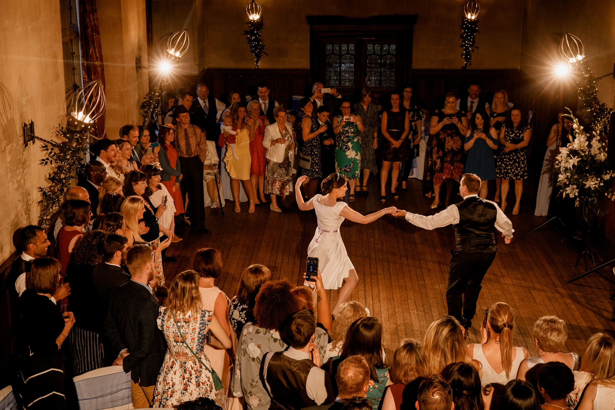 dancing at fanhams hall