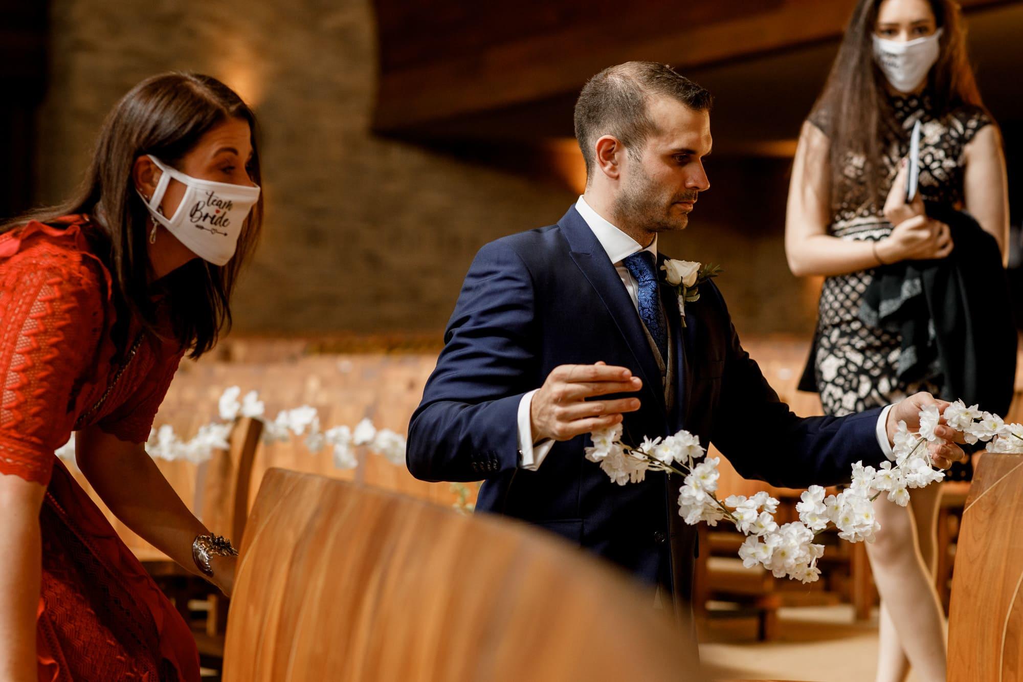 covid-19 wedding photography