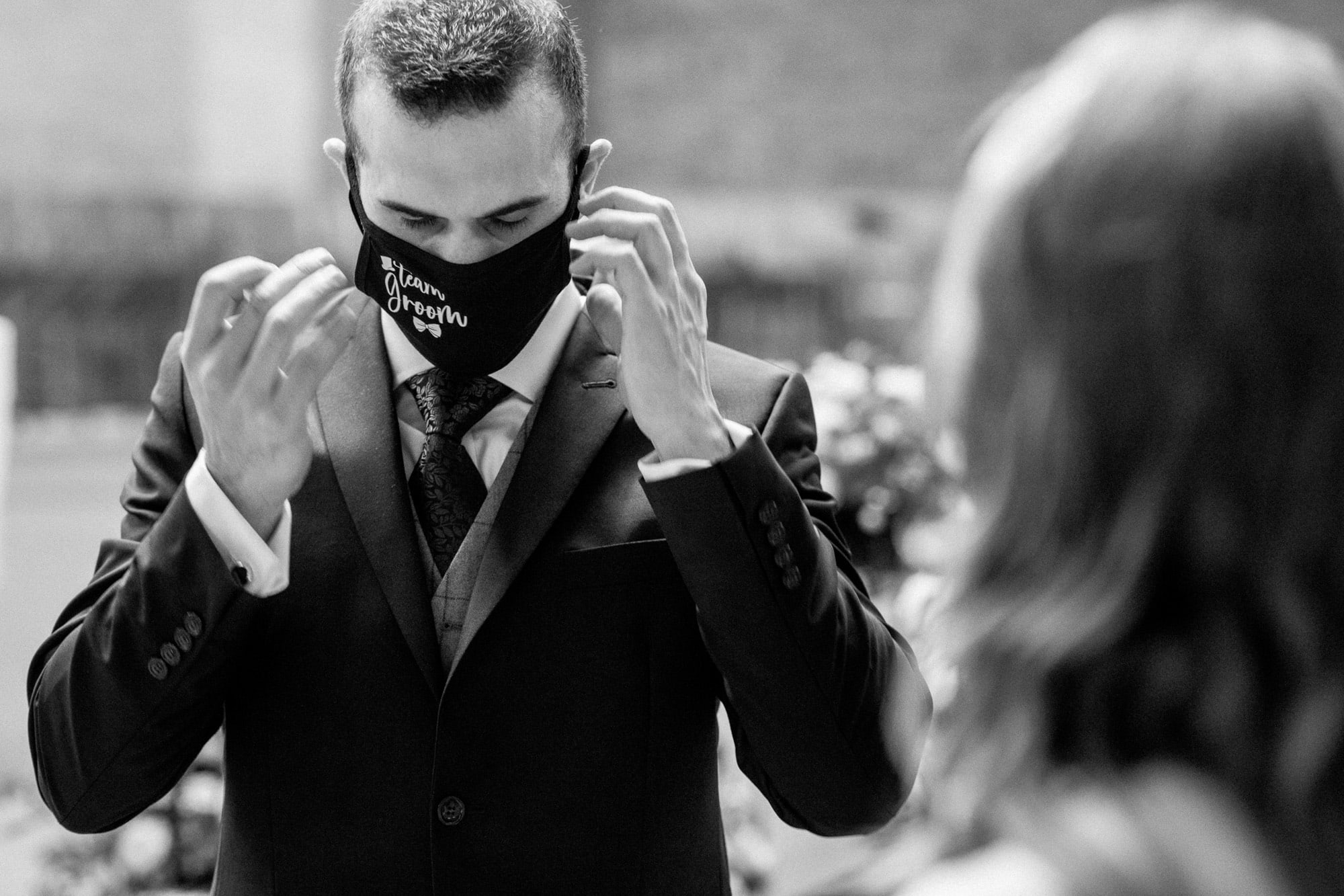 covid-19 wedding photographer