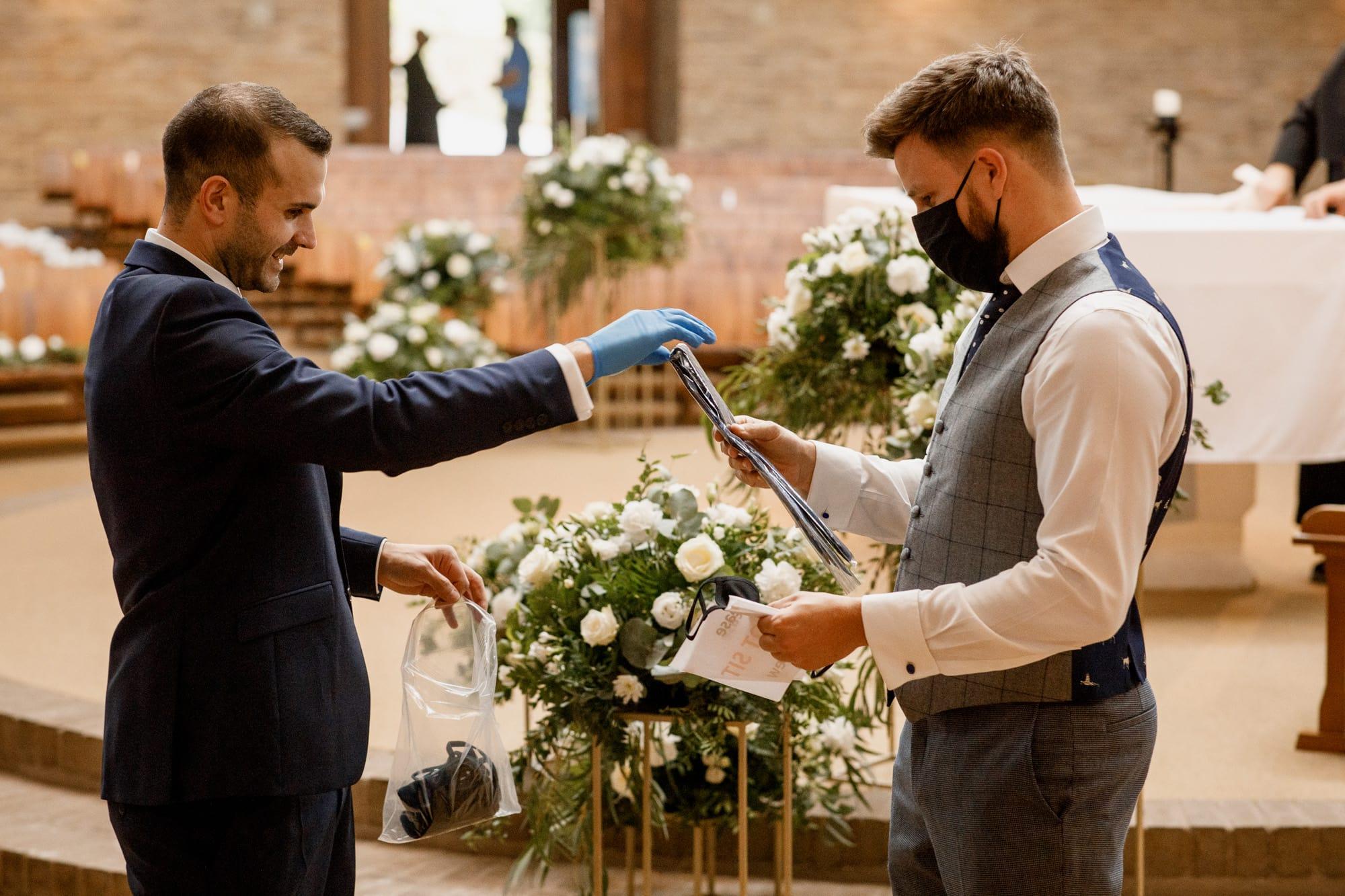 preparing for covid wedding