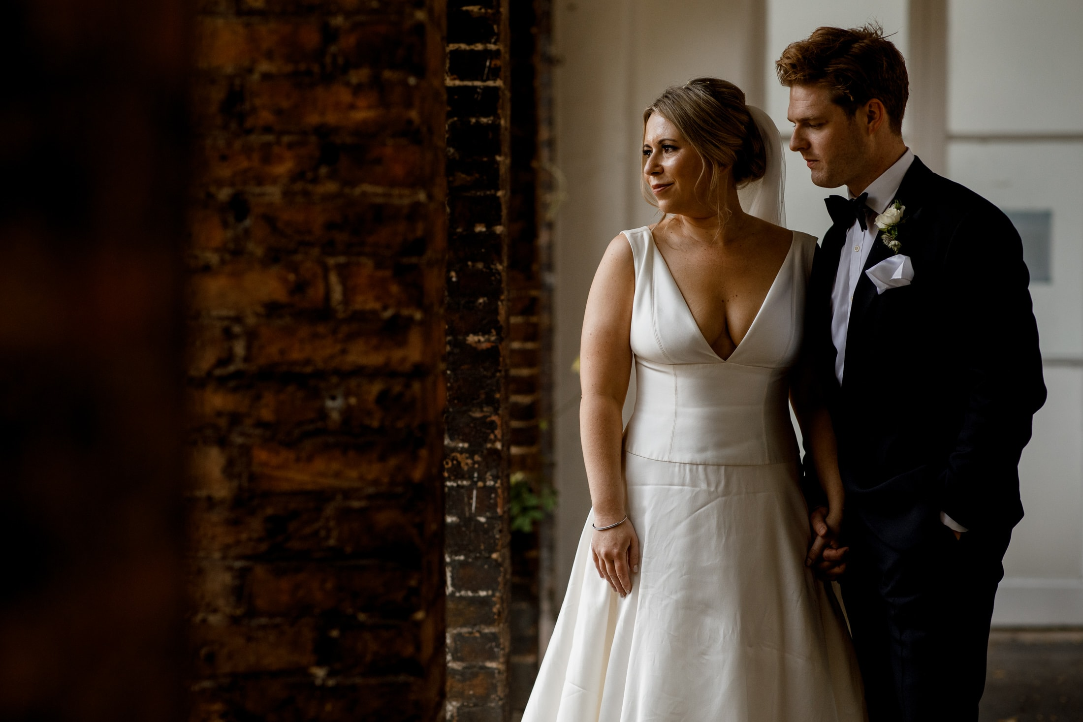 holland park wedding photos