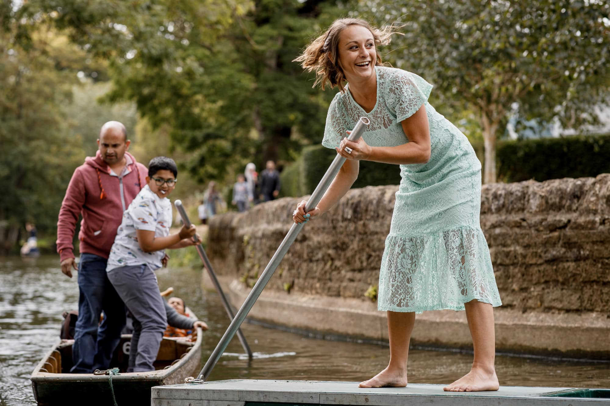 wedding punting in oxford