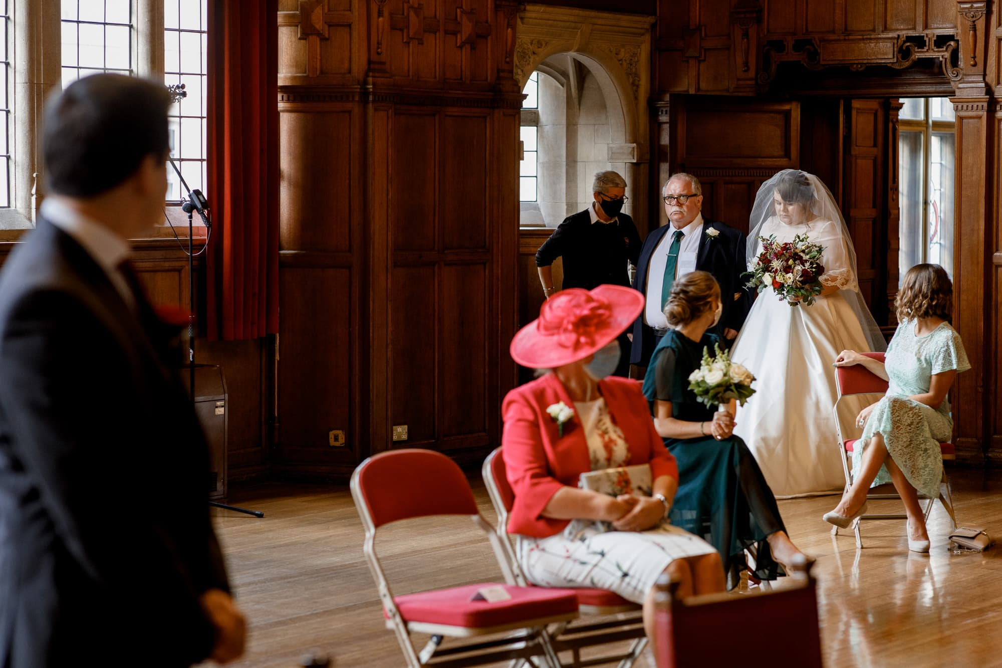 oxford town hall wedding photography