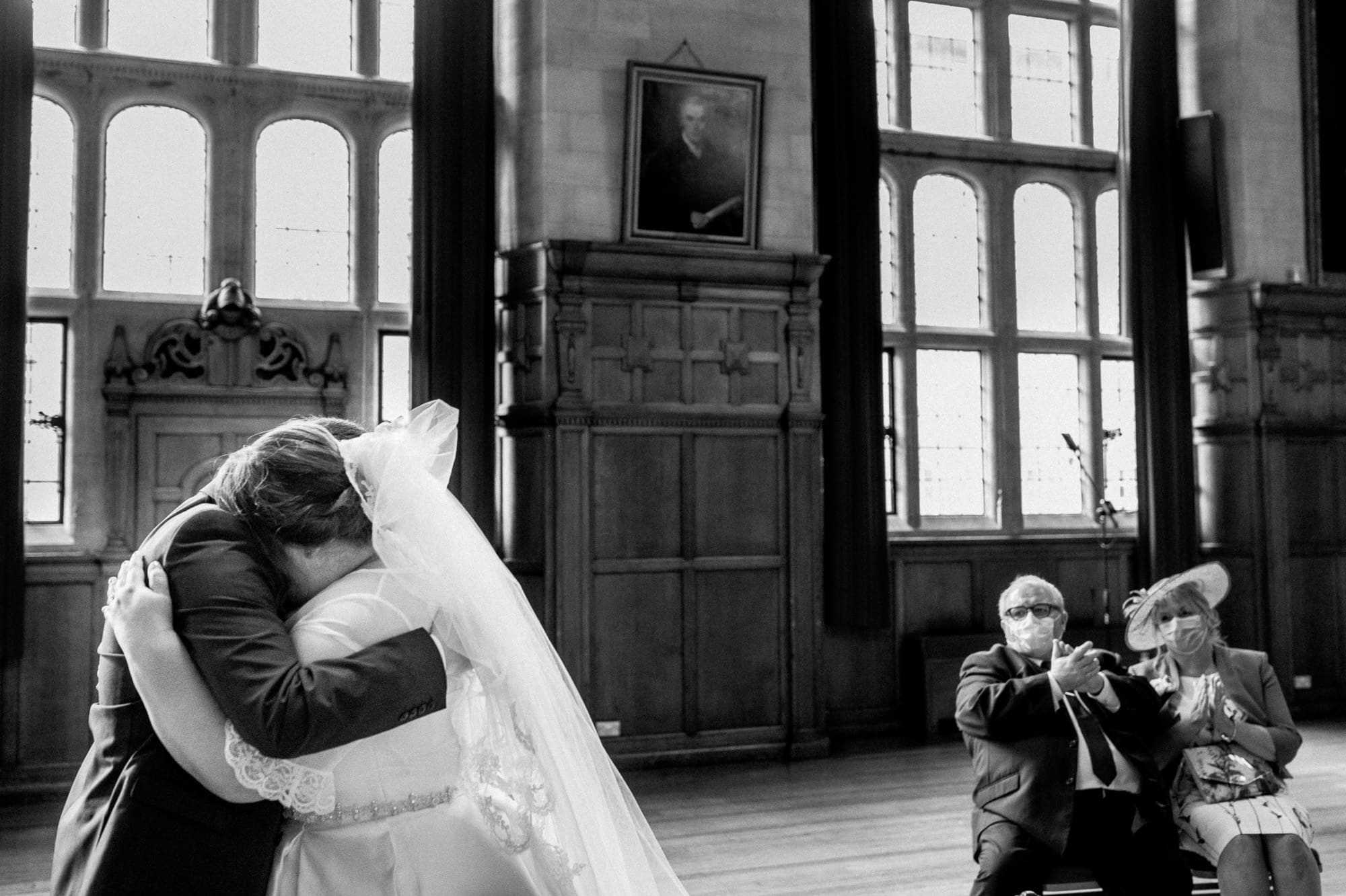 covid secure wedding ceremony in oxford