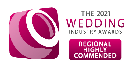 regional highly commended the wedding industry awards 2021
