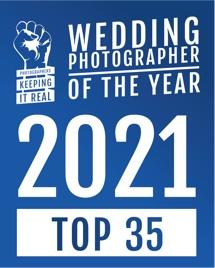 wedding photographer of the year 2021