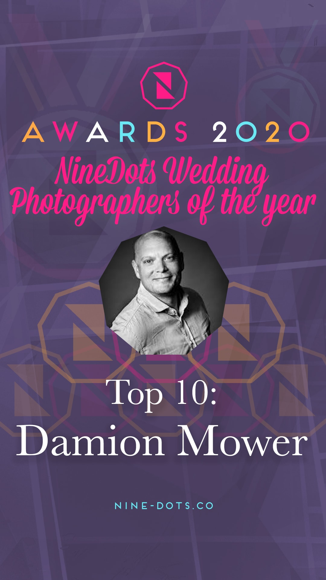 top 10 wedding photographer nine dots