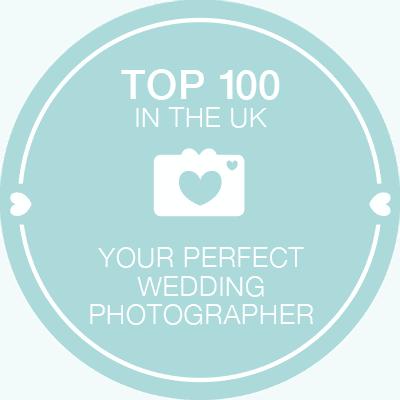 top 100 wedding photographer award